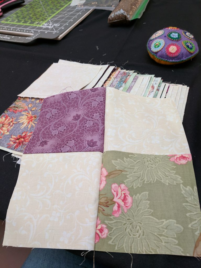 A quilt block