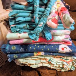 Fleece Pet Mats For Donation